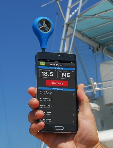 Vindmätare för Iphone / Android