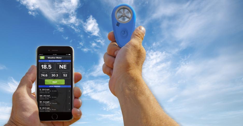 Vindmätare för Iphone & Android